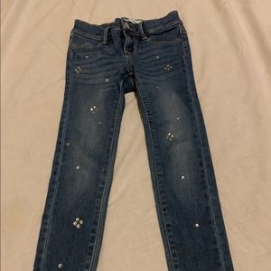 Girls size 6 old navy jeans worn once